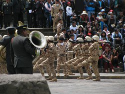 Parade in Cusco (Peru)