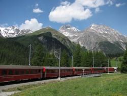 Service public: Rhätische Bahn am Albulapass